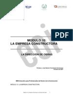 Organización de Una Empresa Constructora