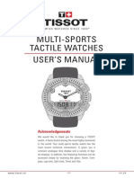 Tissot T-Touch Manual