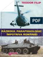Razboiul Parapsihologic Impotriva Romaniei (T.filip)