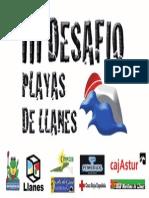 Pancarta Desafío 2014.