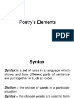 Meeting 3 Syntax and Figurative Language