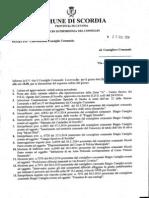 Convocazione Consiglio Comunale Per Il 03 Luglio 2014