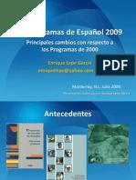 Programas de Espanol