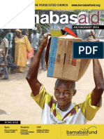 Barnabas Aid July/August 2014