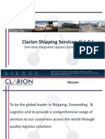 Clarion Shipping Services LLC
