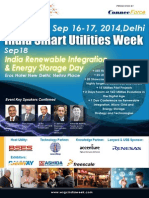 The 4th India Smart Grid Utilities Week
