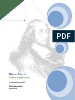 Blaise Pascal - Referat