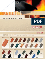 TD Preisliste RO 2009
