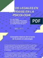 Tp de Aspectos Legales Psicologia