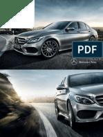 Mercedes-benz-c-class-w205 Brochure 01 2700 de de 11-2013