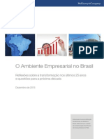 O Ambiente Empresarial No Brasil