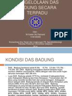 Pengelolaan DAS Badung Secara Terpadu Das Badung