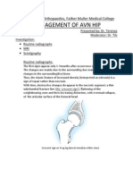 Management of Avn Hip