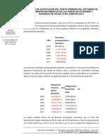 Enmienda de Sustitución Relativa Al Préstamo de Pago a Proveedores