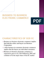 Business to Business Ec