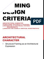 Framing Design Criteria