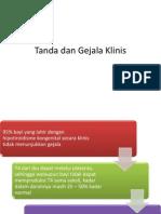 Ptt Tanda Dan Gejala Klinis hipotiroid kongenital