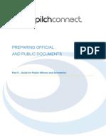 9 Preparing Official and Public Docs Final