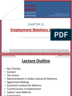Employment Relations in India Ch-13
