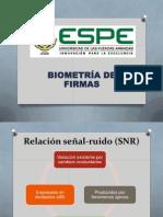 Biometría de Firmas
