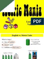 metric mania - lesson 3 on volume