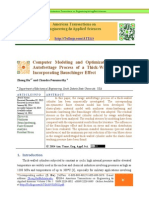 Computer Modeling and Optimization of Swage Autofrettage Process of a Thick-Walled Cylinder Incorporating Bauschinger Effect