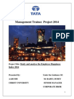 Management Trainee Project 2014