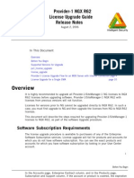 CheckPoint R62 Provider1 License Upgrade Document