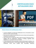 Certificación Cisco 2013