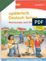 Agnes Holweck, Bettina Trust Spielerisch Deutsch Lernen. Wortschatz Und Grammatik. Lernstufe 1 Deutsch Als ZweitspracheFremdsprache 2009