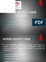 Norma Iso 14598