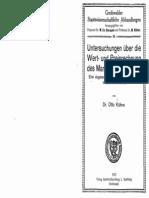 Kühne 1922 Untersuchungen