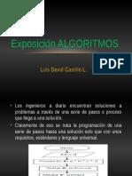 Exposición ALGORITMOS
