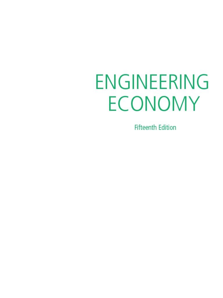 Engineering Economy 15th Ed Sullivan Internal Rate Of Return