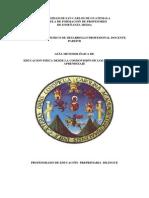 Guía Educación Física Preprimaria Bilingue.