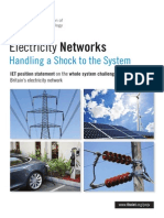 Shock to the System - IET Position Statement