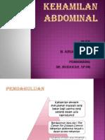 Kehamilan Abdominal
