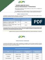 Guia Estudiantil Saber Pro 2014 a Tecnicos y Tecnologos