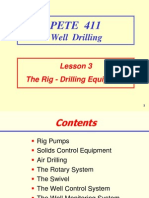 3. the Rig - Drilling Equipment