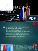 Regionalismo Critico 4to-1