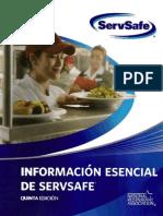 ServSafe - Informacion Esencial de ServSafe 5°Ed. 2008