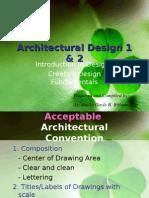Architectural Design 1&2