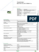 Plateforme d Automatisme Modicon TSX Micro TSX3721001