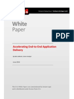 Accelerating End-to-End Application Delivery | ESG White Paper