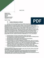 06-23-2014 IRS FOIA Request Re Missing Lerner Emails