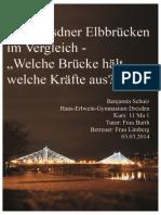 Die Dresdner Elbbrücken Im Vergleich (Facharbeit)