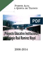 Pei Colegio Raúl Ramirez Mayol
