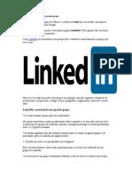 LinkedIn Construindo Um Grande Grupo