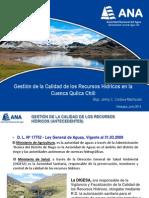 Gestion de La Calidad de Rh en Cuenca Quilca Chili