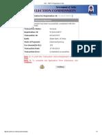 SSC - PART-II Registration Contd..